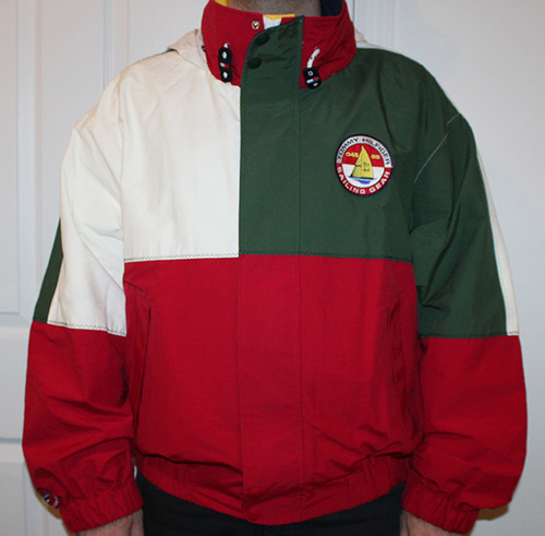 a58f455c5 Vintage Tommy Hilfiger Sailing Gear Red / White / Green Color Block ...