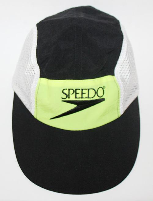 Vintage Speedo 5 Panel Mesh Long Bill Neon Hat — Roots 9810e13422b