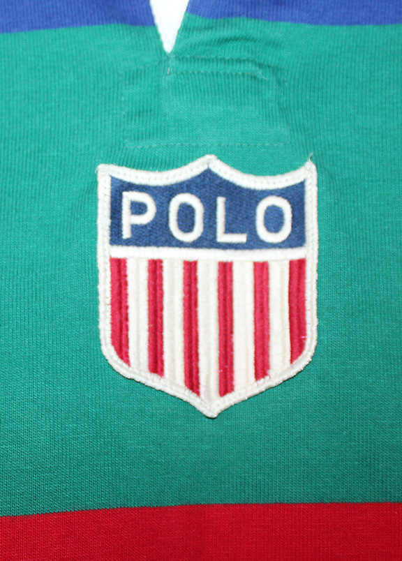 9ca7bc0e9 Vintage Polo Ralph Lauren K-Swiss Colorful Rugby (Size M) — Roots