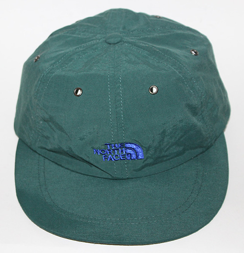 Vintage The North Face Green   Blue Nylon Strapback — Roots 427f32cce789