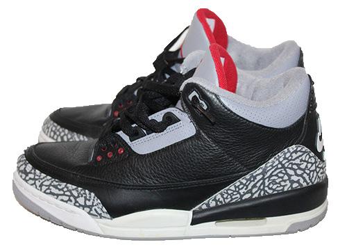 buy online 85a2c ffe28 Air Jordan 3 III Retro Black / Cement 2001 (Size 10.5) — Roots