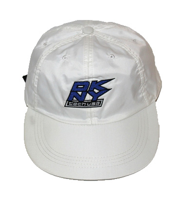 fe0b3be9f708f Vintage DKNY Tech Nylon White Blue Cap — Roots