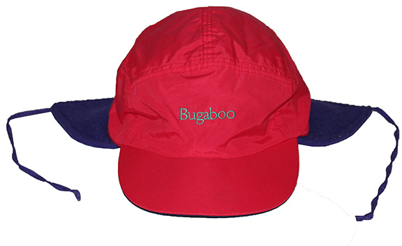 1ee6d3c8515c3 Vintage Columbia Sportswear Bugaboo Red   Green 2 Layer Hat (Size L) — Roots