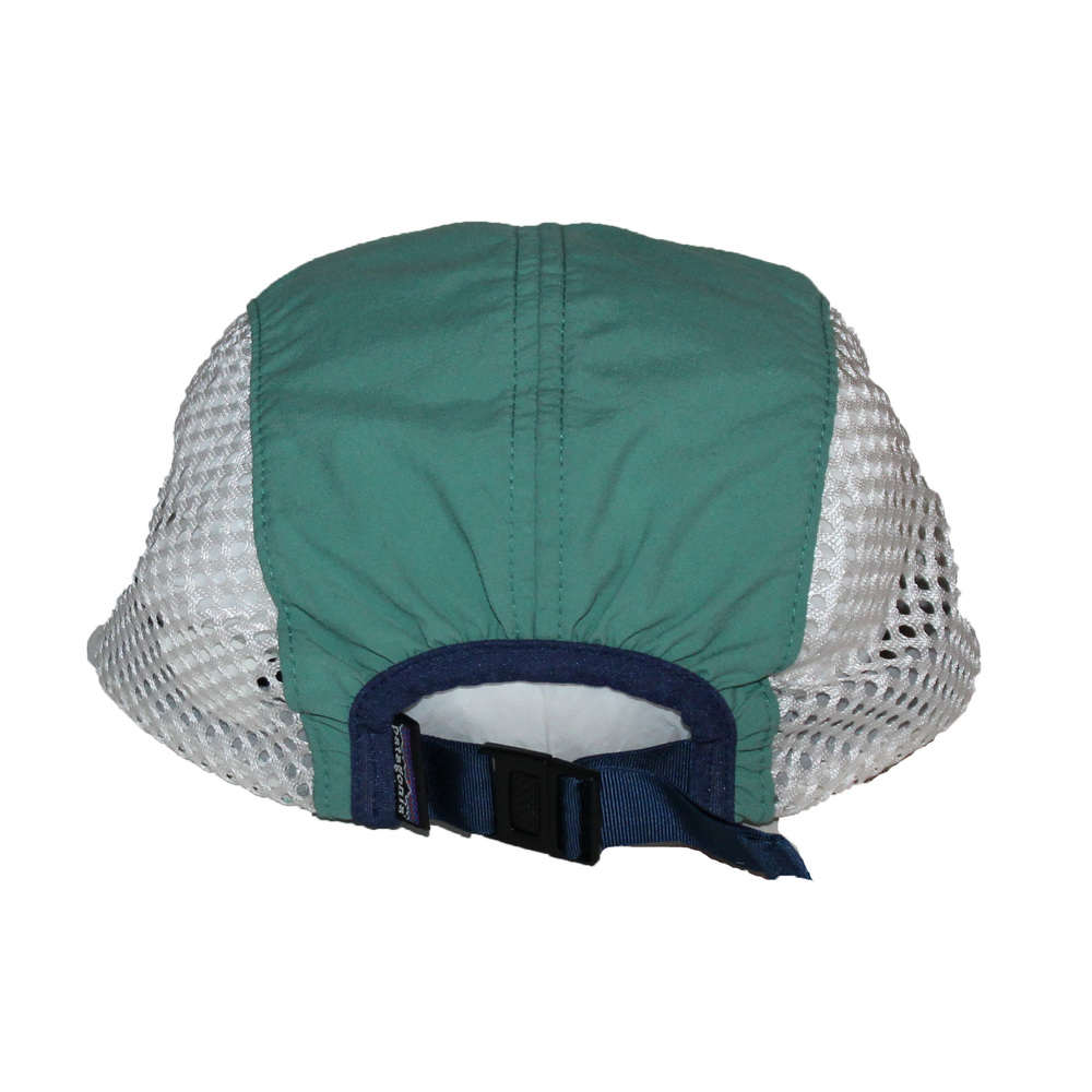 53e791e9b7179 Vintage Patagonia Green   Blue 5 Panel Hat (Size M) — Roots