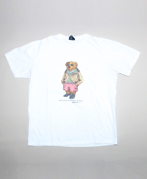 0f3b2fcd Vintage Polo Ralph Lauren Bear T Shirt (Size M) — Roots