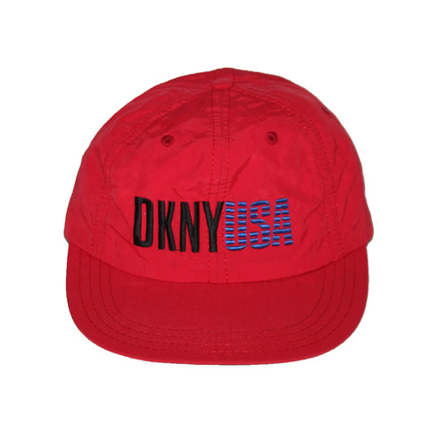 Vintage DKNY USA Red   Blue Hat — Roots a0b036327635