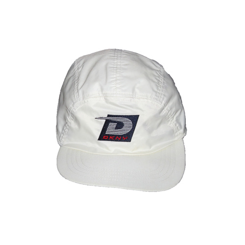 Vintage DKNY Tech USA White 5 Panel Hat — Roots 11336b698350