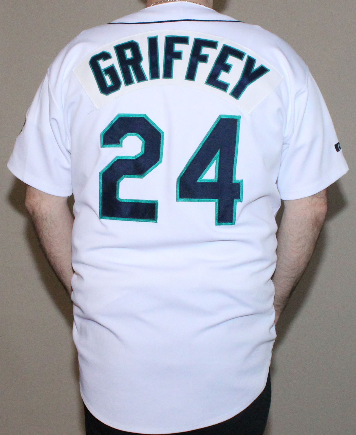 promo code 55a78 c59ea Vintage Russell Athletic Seattle Mariners Ken Griffey Jr Authentic Home  Jersey (Size 48) — Roots