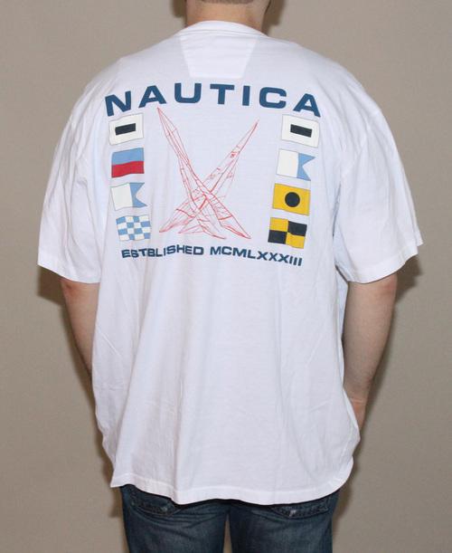 347bc075b Nautica Established MCMLXXXIII T Shirt (Size XXL) — Roots