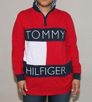 49c9d456cf Roots Dolls - Vintage Tommy Hilfiger Quarter Zip Shirt 1.jpg