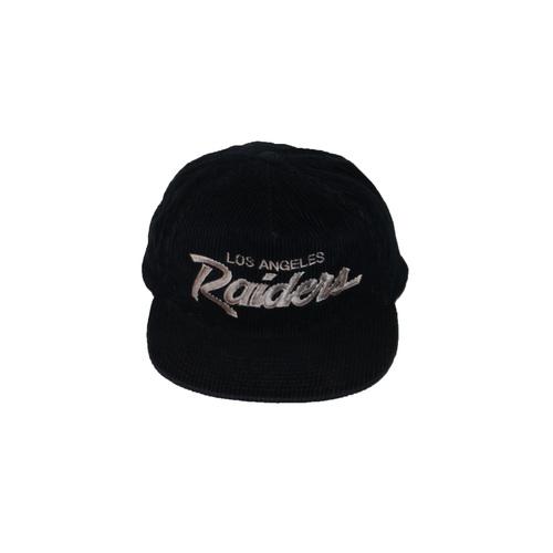 Vintage Sports Specialties Los Angeles Raiders Corduroy The Cord Hat ... 0c98a852d8c
