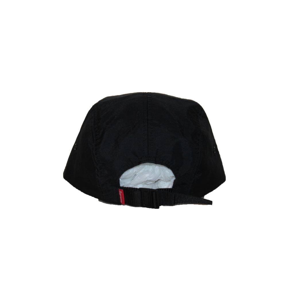 2852c81dd1b Supreme Black Nylon 5 Panel Camp Cap — Roots