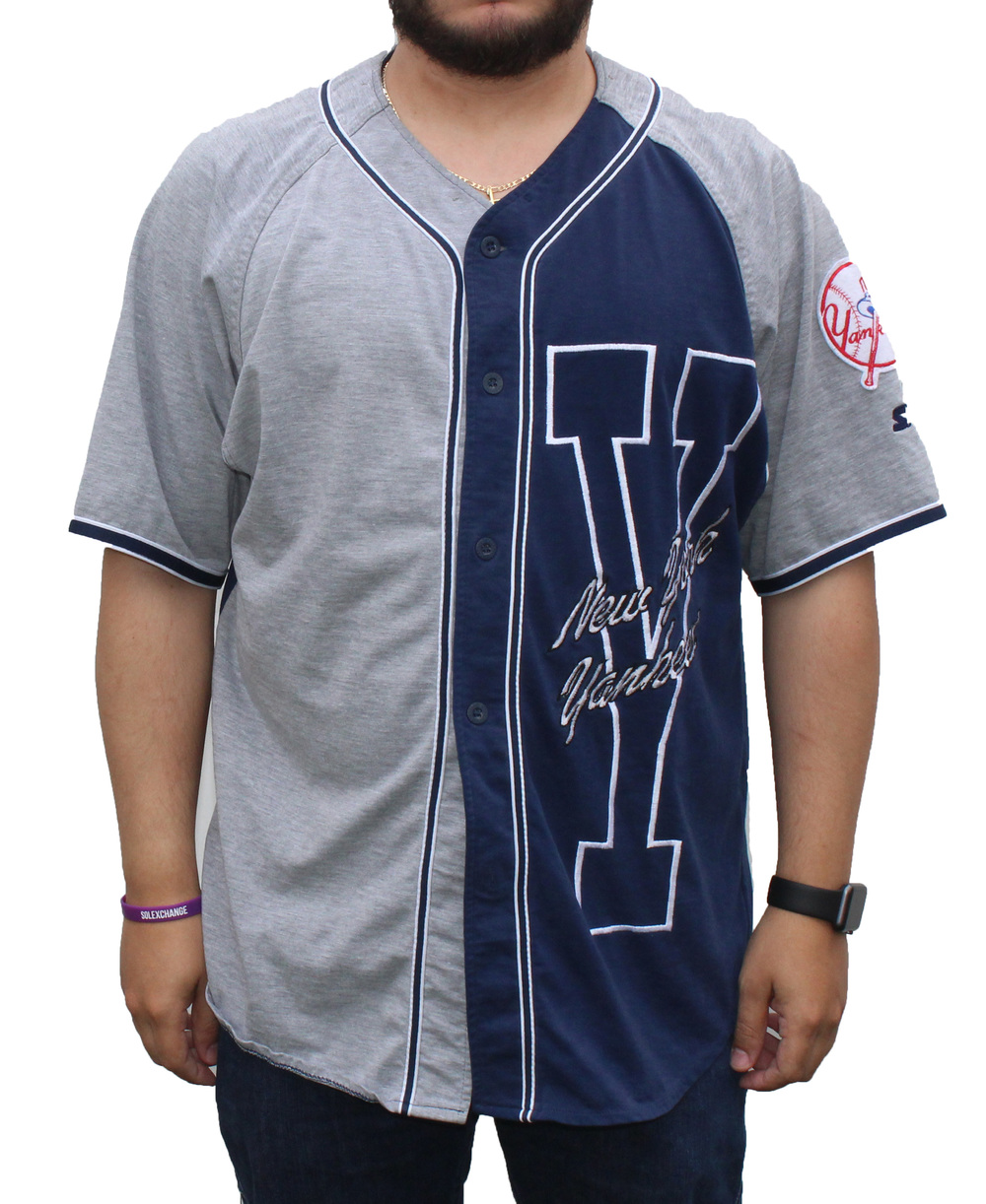f3acaa8914d Vintage Starter New York Yankees Baseball Jersey (Size XL) — Roots
