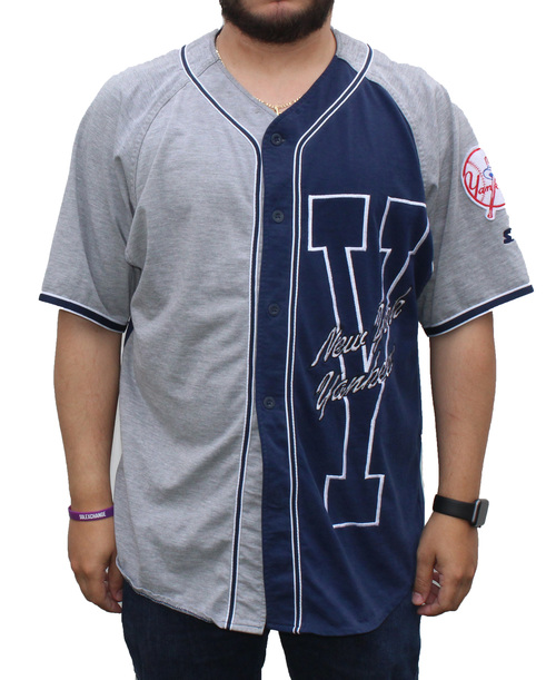 Vintage Starter New York Yankees Baseball Jersey (Size XL) — Roots 58c7b3d880f