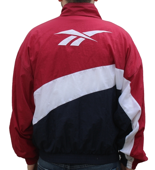 0c562d2c59d3 Vintage Reebok Red   Blue Windbreaker (Size L) NWT — Roots
