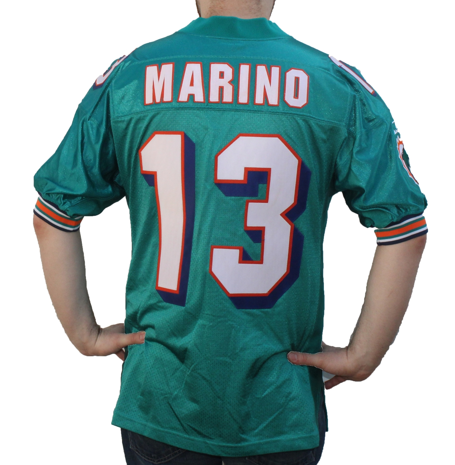 9160092a149 Vintage Starter Miami Dolphins Dan Marino Authentic Home Jersey (Size 46) —  Roots