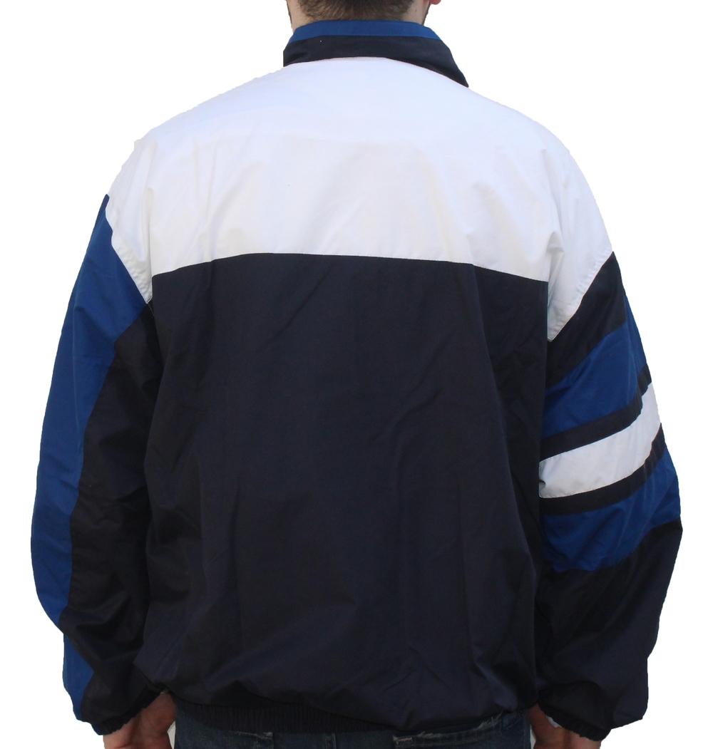 a245f01d00 Vintage Perry Ellis America White   Black   Royal Light Jacket (Size XXL)  NWT — Roots