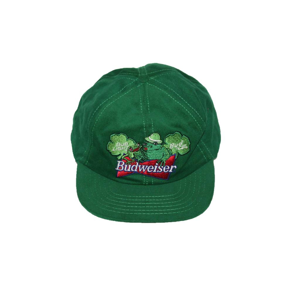 b5a51e8a Vintage Budweiser Frog Snapback — Roots