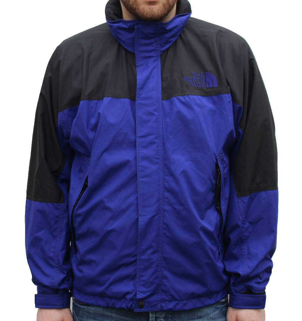 The North Face Royal Blue / Black Windbreaker (Size M) U2014 Roots