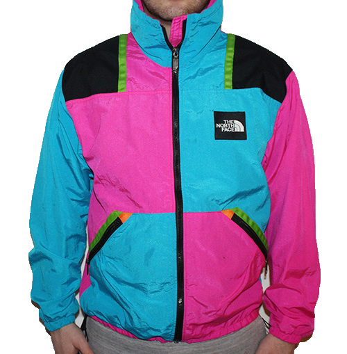 The North Face Colorful Windbreaker Size M Roots