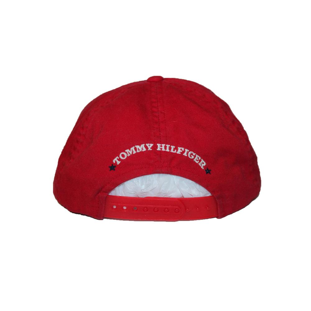 576190d782f1 Vintage Tommy Hilfiger Red   Denim Star Snapback — Roots
