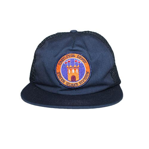 c4e8c0e9 Vintage MTA Castelton Depot Summer Hat — Roots