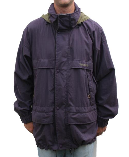 31c663a3204 Vintage Timberland Weathergear Purple / Olive Jacket (Size L) — Roots