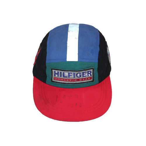 Vintage Tommy Hilfiger Athletic Gear 5 Panel Hat Autographed — Roots bc70f81951c