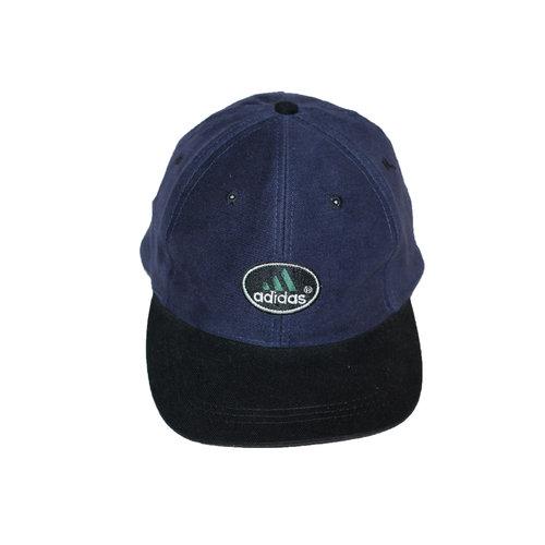 Vintage Adidas Navy Black Snapback Hat — Roots 18a43ae1b9f2