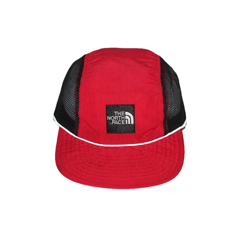 Vintage The North Face Mesh Reflective 3M Red Soft Brim Hat — Roots 687c527b4756