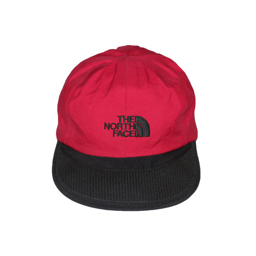Vintage North Face Goretex Red Softbill 6 Panel Cap — Roots 733ac4bb41b