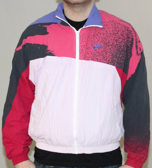 the latest 8949c 5e97a Vintage 90s Challenge Court Andre Agassi signature windbreaker