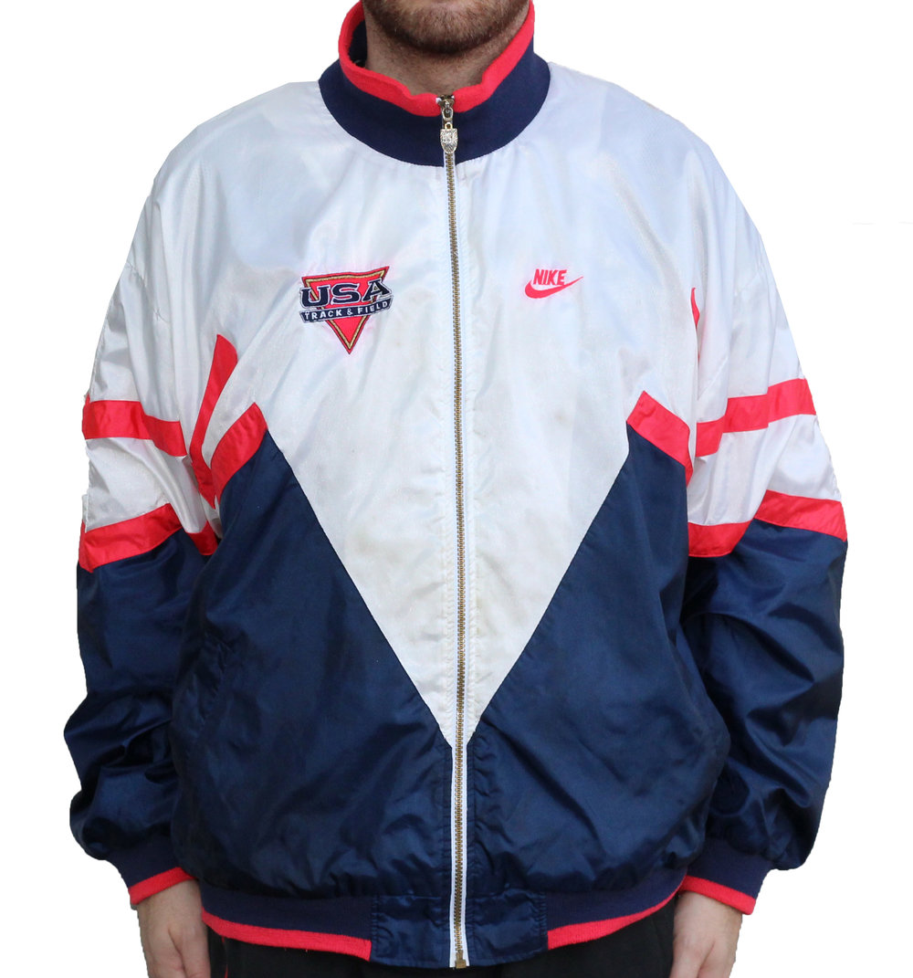 18583288d Vintage Nike USA Track And Field Windbreaker (Size XL) — Roots