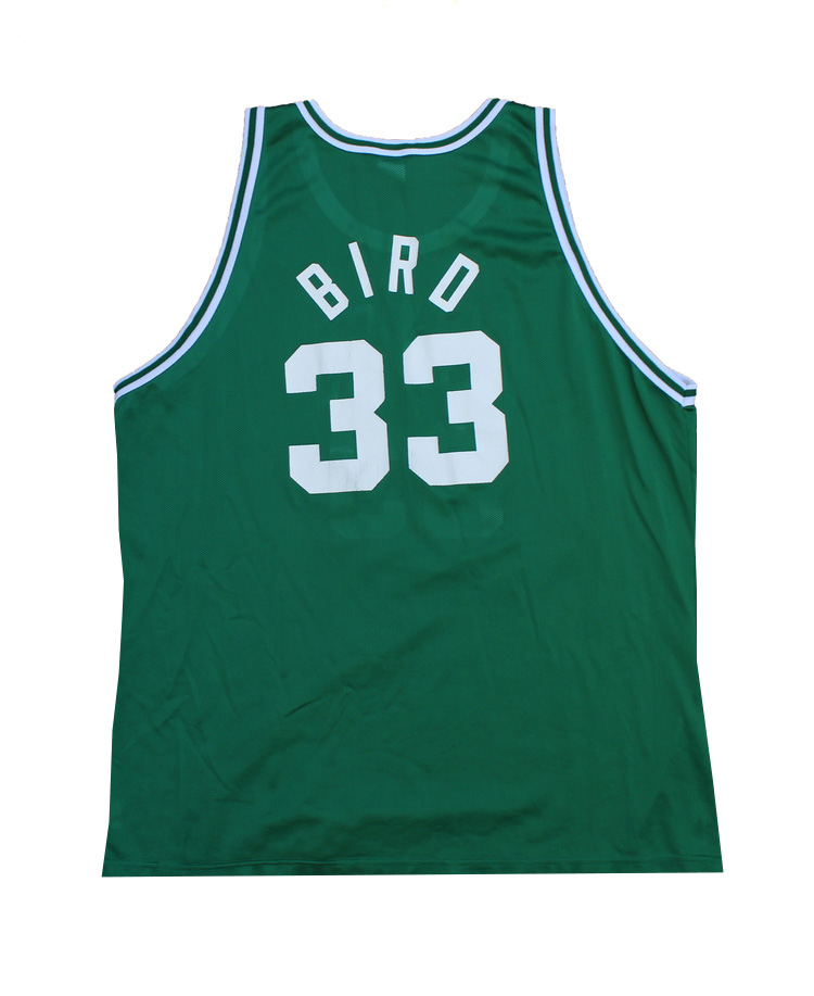 quality design ad87a 0f93c Vintage Champion Boston Celtics Larry Bird Replica Jersey (Size 52) — Roots