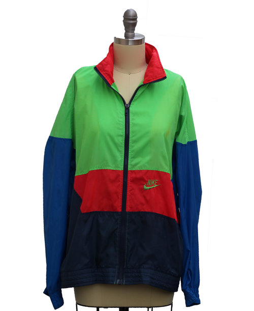 c14a510bae48 Vintage Nike Colorful Windbreaker (Size Youth XL) — Roots