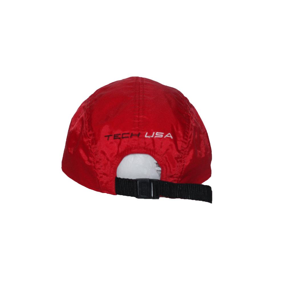 58ec76c4ce39c Vintage DKNY Tech Red Nylon 5 Panel Hat — Roots