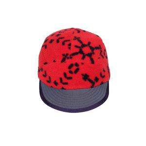 fa304ccb310 Vintage Patagonia orange fleece snowflake pattern 5 panel hat