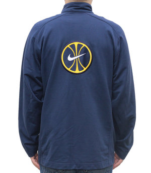 7999fb071 Vintage 90s Nike blue and yellow basketball jacket