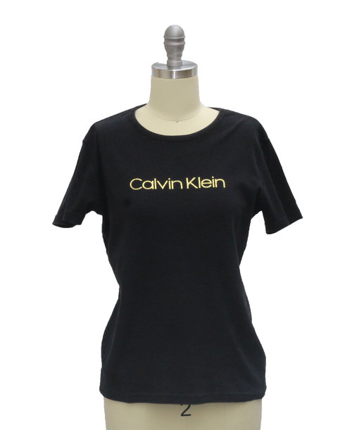 ecba88d175d8 Vintage Calvin Klein Jeans Black Ladies T-Shirt (Size Women s M) — Roots