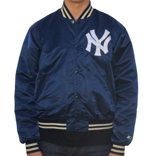 6208549ce57 Vintage Starter New York Yankees Satin Dugout Jacket (Size L) — Roots