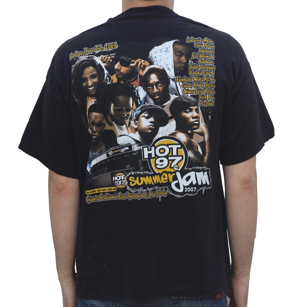 97b05875cb6 Hot 97 Summer Jam T Shirt 2007 T Shirt (Size XL) — Roots