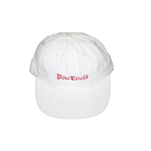 Vintage Polo Tennis White   Plaid Fitted Hat (Size XL) — Roots 273153df4ce