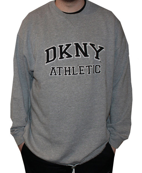 521c0156f961 Vintage DKNY Athletic Crew Neck Heather Grey Sweatshirt (Size L) — Roots