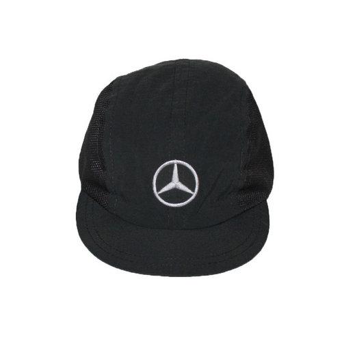 Vintage Mercedes Benz Black   Mesh Cycling Hat — Roots 4c35858654c