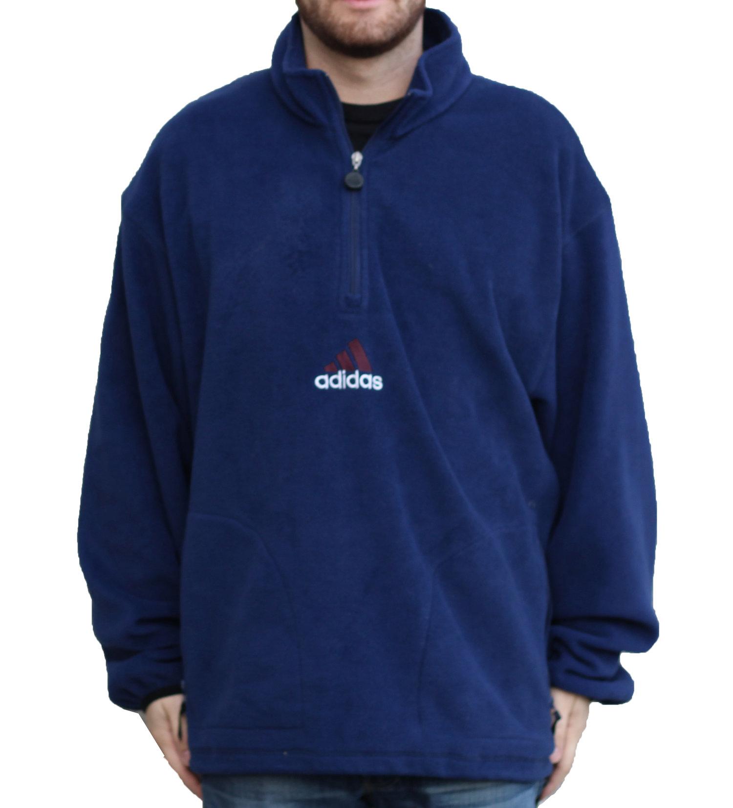 adidas polar fleece 1/4 zip