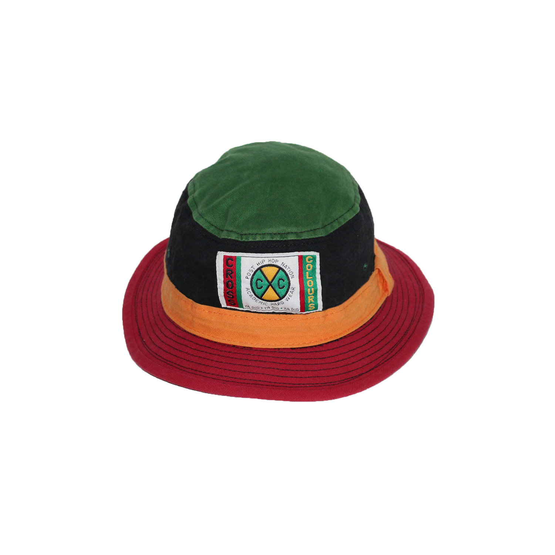 31493360155 Vintage Cross Colours Colorful Bucket Hat — Roots