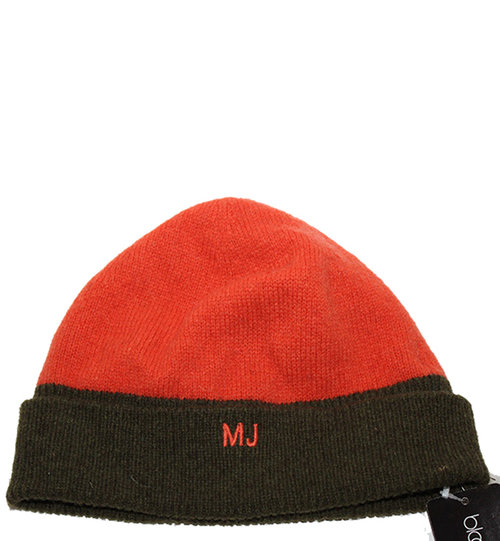 Marc Jacobs Orange   Military Olive Wool Beanie NWT — Roots efe1fc2ef69