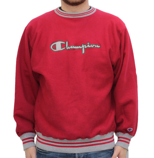 Vintage Champion Reverse Weave Spell Out Crew Neck (Size XXL) — Roots