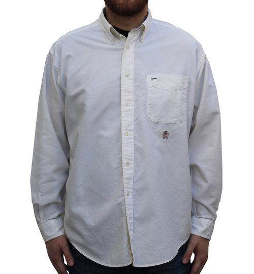 Vintage Tommy Hilfiger Off White Button Down Shirt (Size M) — Roots