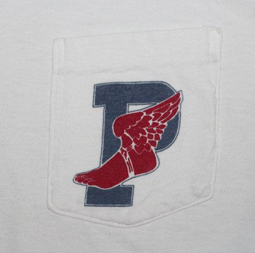 8a4673e07 Vintage Polo Ralph Lauren P Wing T Shirt Size L Roots